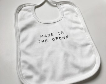 Made in The Cronx Bib