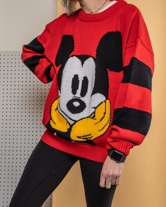 Vintage Early 90s Mickey Sweater