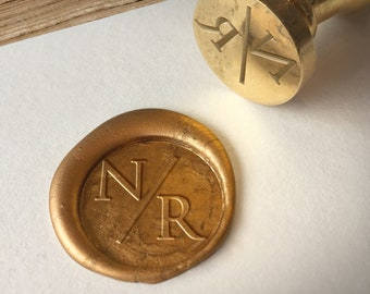 Customized Wax Seal Stamp with Monogram Options, Personalized Wedding Wax seal, Wax seal with initials