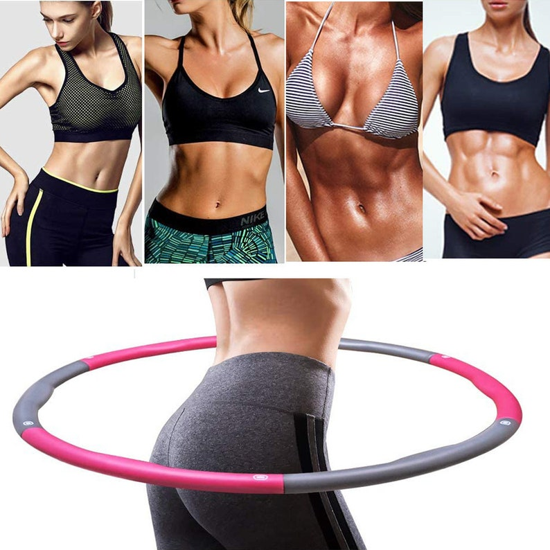 GAX Weight Loss Hula Hoop Adult Weighted Hula Hoops Fitness Gym ...
