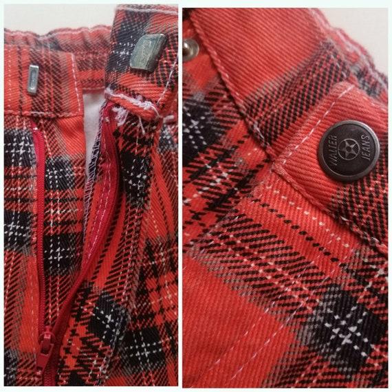 Wide Leg Jeans, 70s 80s Jeans Vintage Jeans, Plai… - image 10