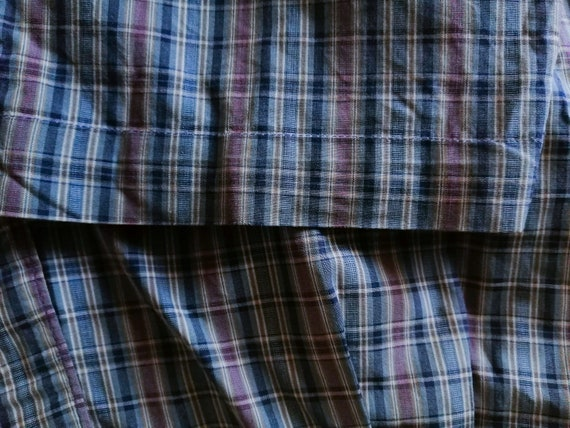 70s Vintage Lee Pants, 80s Pants, Retro Plaid Pan… - image 4