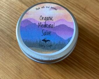 Organic Calendula Balm for dry, cracked hands -