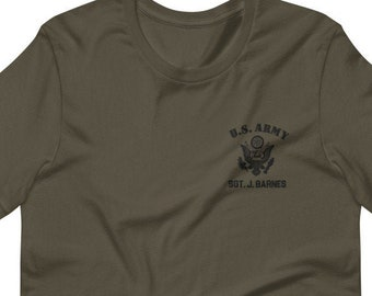 Bucky Barnes' Army Tee - Embroidered (Unisex)