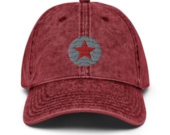 Winter Soldier Vintage Dad Hat
