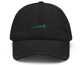 Alligator Loki - Distressed Dad Hat