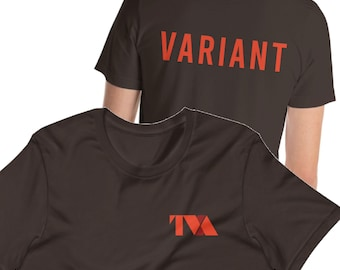 Variant (Front and Back) Short-Sleeve Unisex T-Shirt
