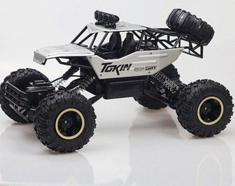 4WD RC CAR   High Speed Racing   Off-Road Vehicle   Double Motors Drive   Remote Control Buggy Car Toys