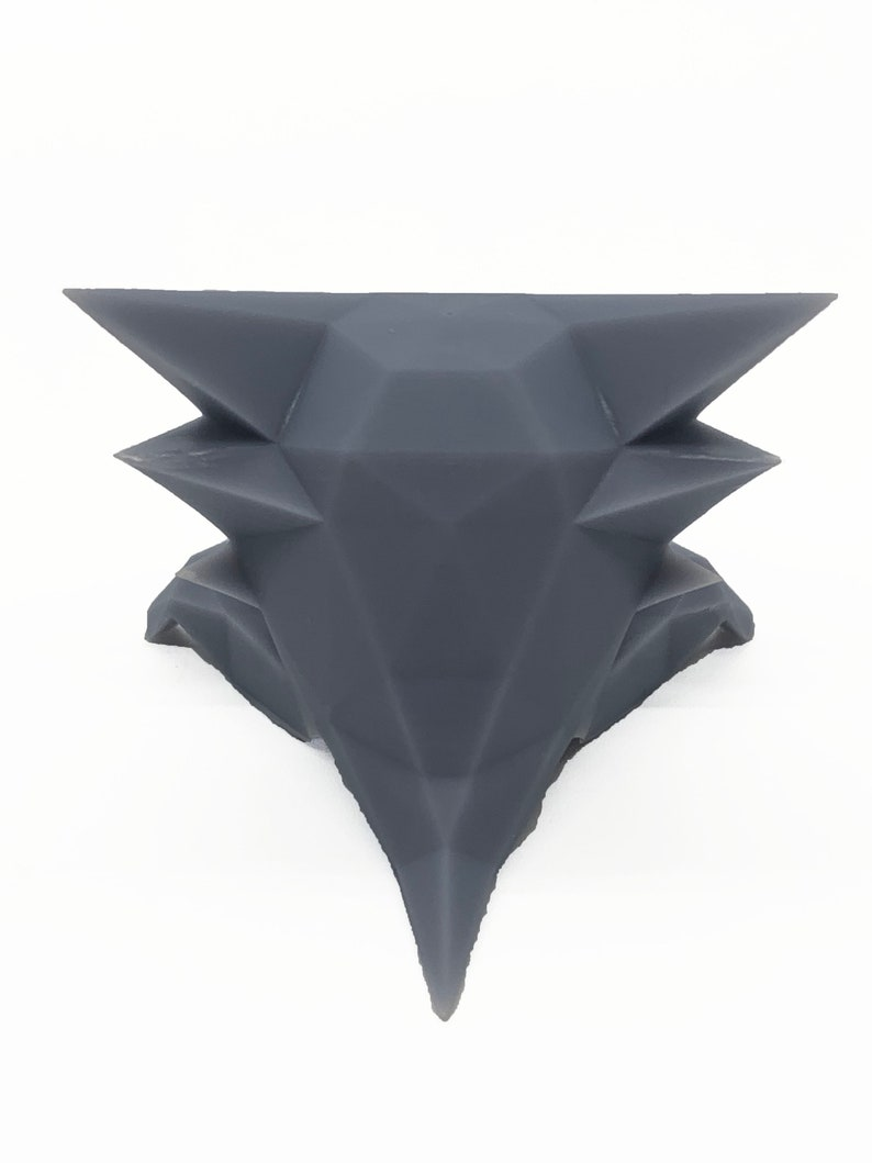 093 Haunter Low Poly Washed And Cured 3D Printed Pokemon Generation