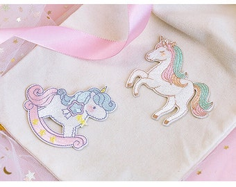 Unicorn Patch, DIY Patch, Patches, Unicorn, Embroidery Patch Sew on Patch, Animal Patch, applique, cute patch