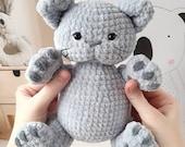 Amigurumi Kitten Pattern, Crochet Cat Toy PDF Tutorial, Crochet cat amigurumi pattern, amigurumi crochet pattern