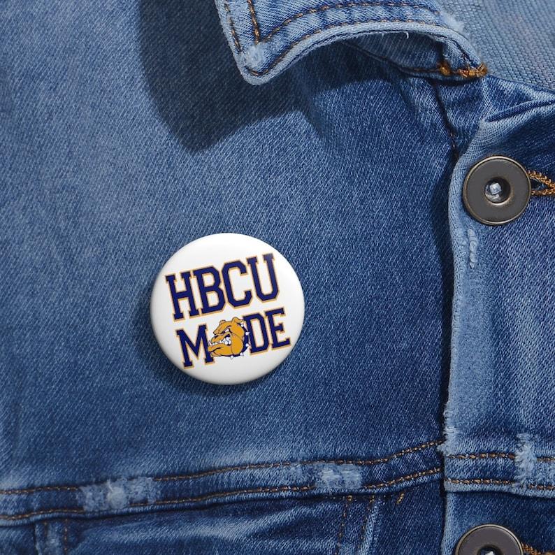 HBCU MADE NC A/&t Button