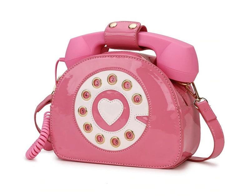 White Evening Bag Handbag: Valentine/'s Day Birthday Black Wedding Bridesmaid Formal Event Prom 10/% OFF Cute Telephone Purse Red Pink