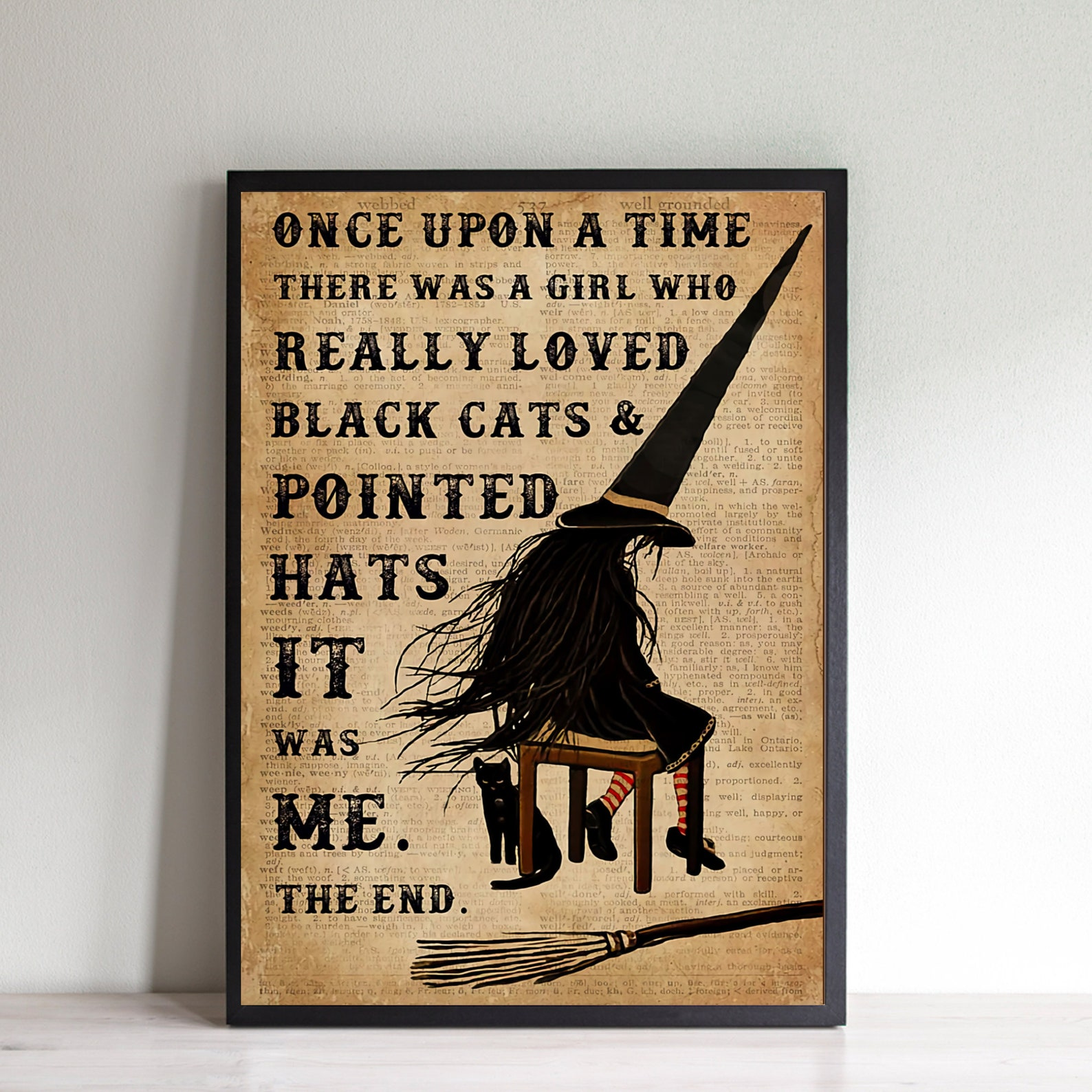 Witchy Once Upon a Time Wall Art
