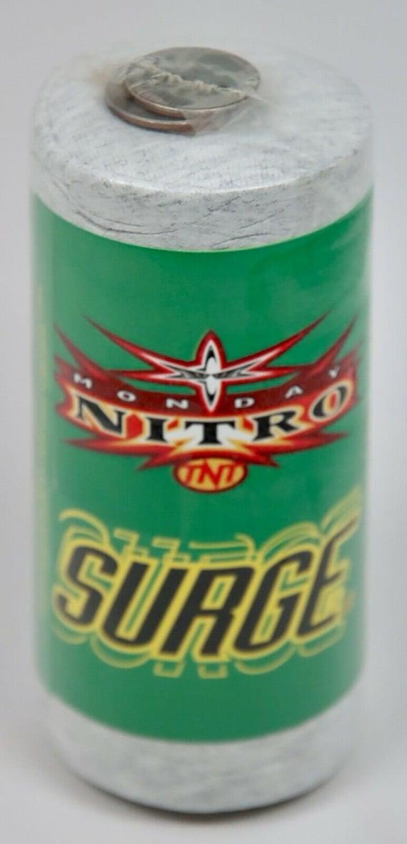 Rare - 1999 Coca Cola SURGE Monday Nitro TNT T-Shi