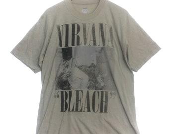 Vintage 89' NIRVANA 'Bleach' Sub Pop Grunge T-Shirt
