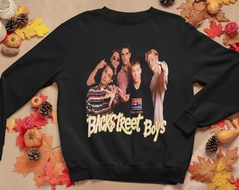Gifts for him Hoodie Long Sleeves Shirt Gift for dad Gift idea Backstreet Boys Shirt Gift for mom Birthday Gift