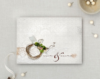 Mr. & Mrs. | Love | Wedding | Congratulations | Anniversary | Valentines | Artsy Card | 5x7 Greeting Card