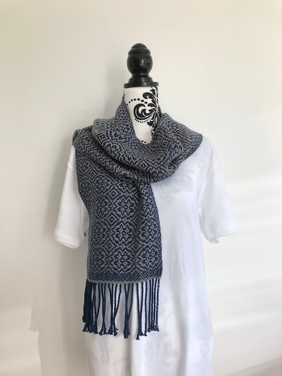 Silver Linings Cotton Scarf