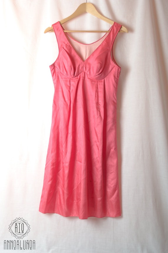 tailored 80s Vintage Soft Dress Romanian made