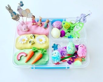 personalized sensory tray Barn sensory kit Farm sensory kit Kids Sensory Kit personalized sensory rice kit montessori play kit