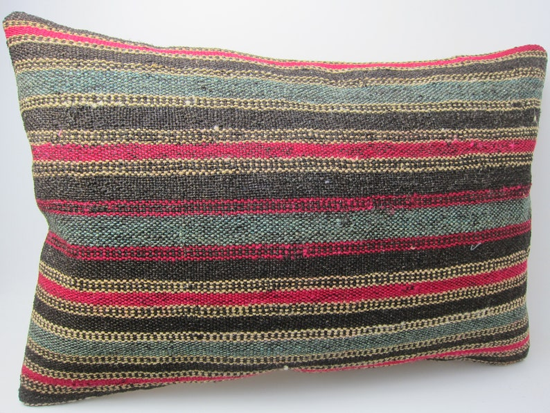 16x24 inches old rug and carpet  pillows handmade weaving sofa lumbar pillows traditional bed pillows  rectangle pillows unique art cushions