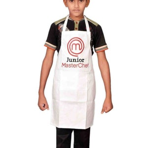 Cute Kids Wipe Clean Apron Junior Chef Cooking Kitchen Drawing Painting School