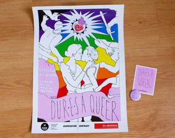 """""""Hard to queer"""" exhibition - Fan Pack"""