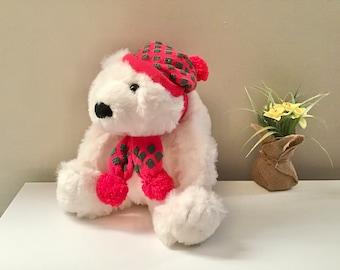 White stuffed animals plush bear