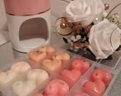 Burner Starter Kit including burner 2 tea lights and perfume sample box