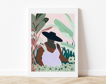 30x40 poster - The hat
