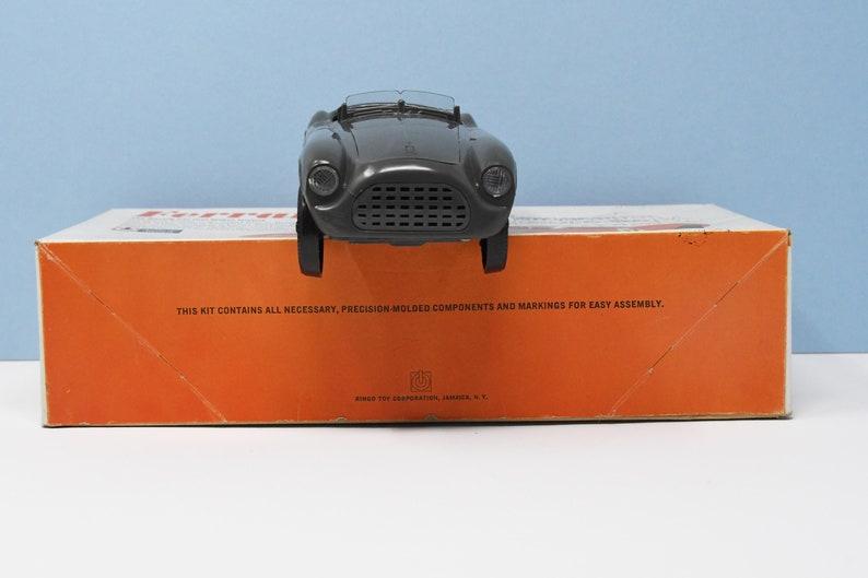 1964 Ringo Ferrari Roadster GreenGray Built Model With Original Box 124 Scale Rebox