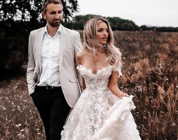 The Lace Gabriella Wedding Gown