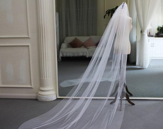The Ayesha Bridal Veil