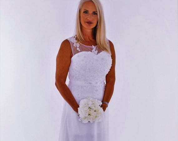 The Pearly Bodice Wedding Gown
