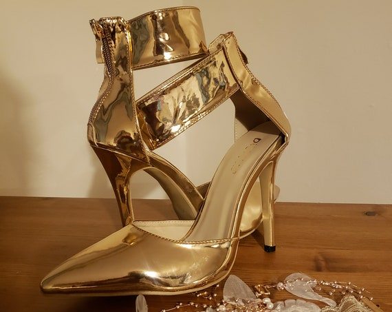 The Patent Gold Shoe