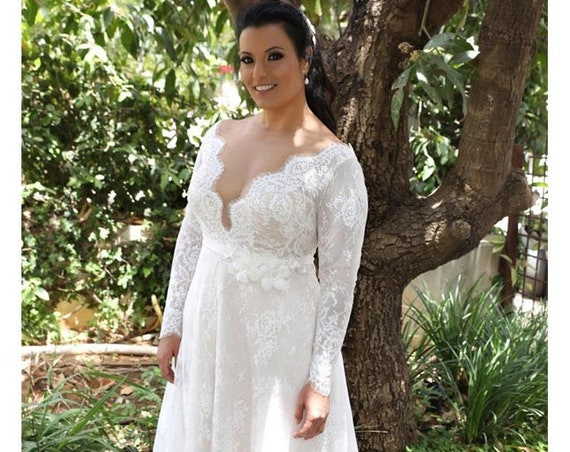 The Catalina Rose Wedding Gown