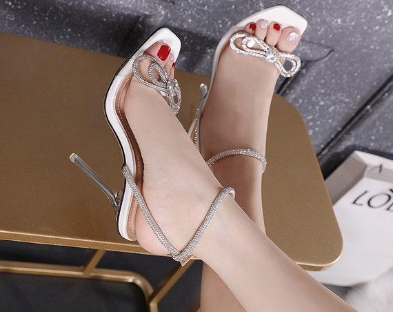 The Sparkling Rhinestone Bridal Sandal
