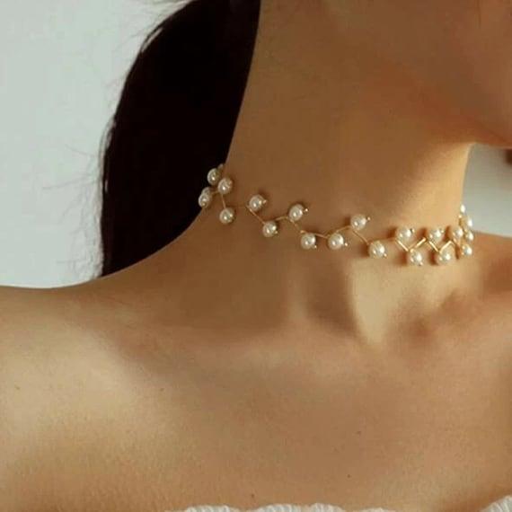 The Handmade Pearl Choker