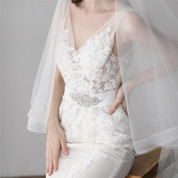 The Handmade Rhinestone & Pearl Bridal Sashay Belt
