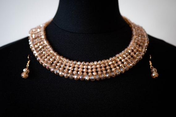 The Cleopatra Beaded Necklace Set