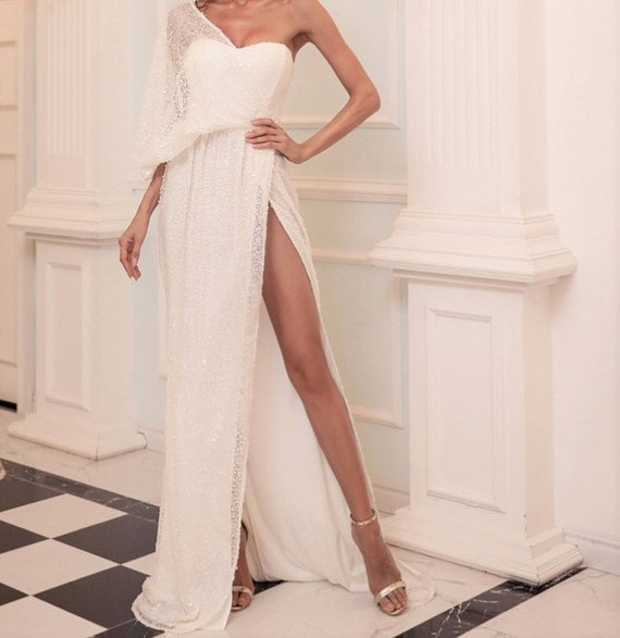The Tatiana Sequined Gown