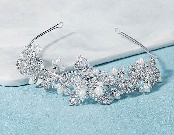 The Pearl Starfish Baguette Tiara