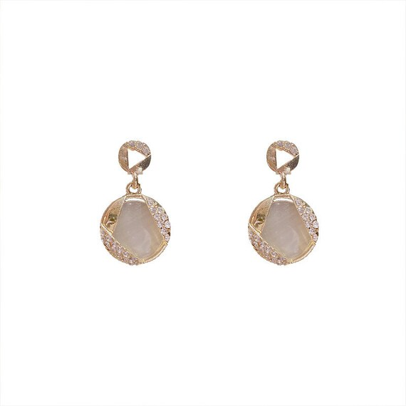 The Opal Pendant Earrings