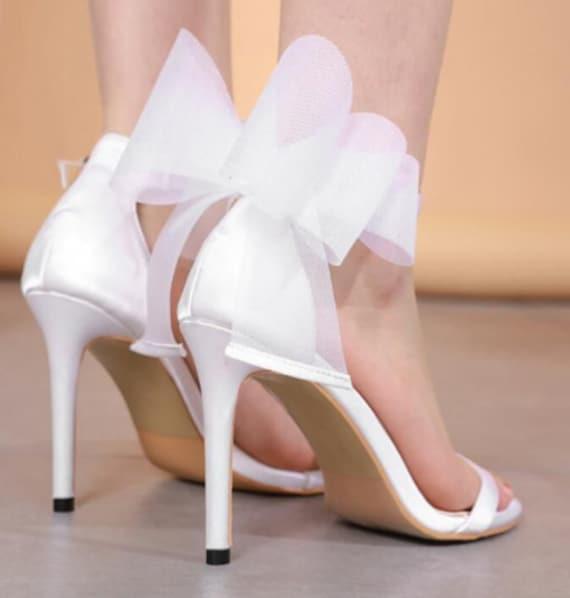 The Satin Flower Shoe