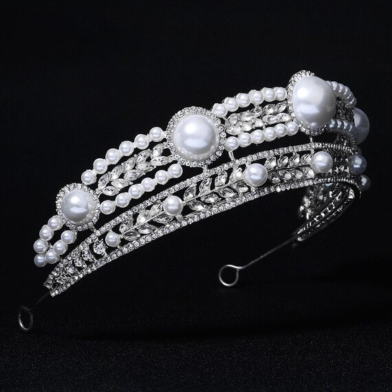 The Doubled Tiered Bridal Crown