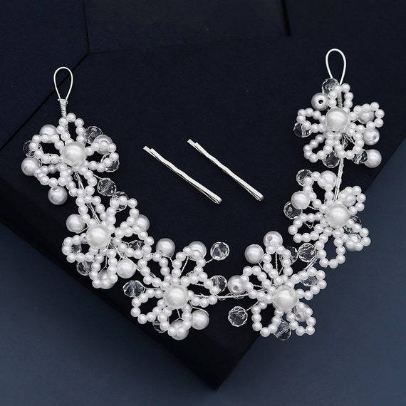The Crystal And Pearl Bridal Headband