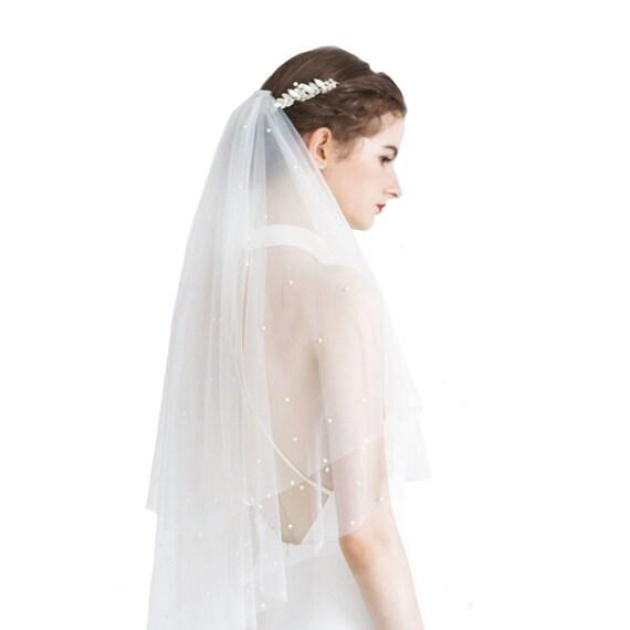 The Anika Bridal Veil
