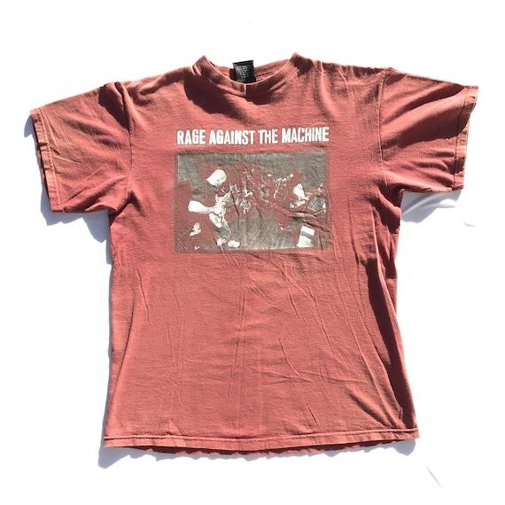 Vintage Rage Against The Machine Tee Shirt / 90's