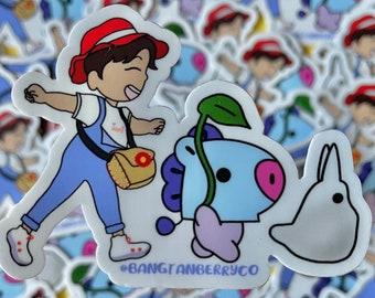 BTS BT21 Totoro - Jhope as Mei Vinyl Sticker